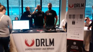 DRLM Stand Brussels