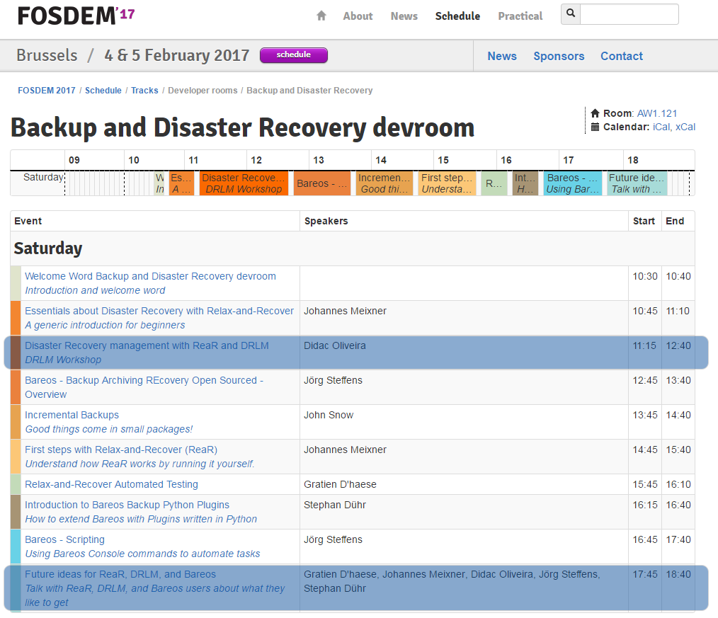 DRLM-Workshop-FOSDEM-17_-Backup-and-Disaster-Recovery-Devroom