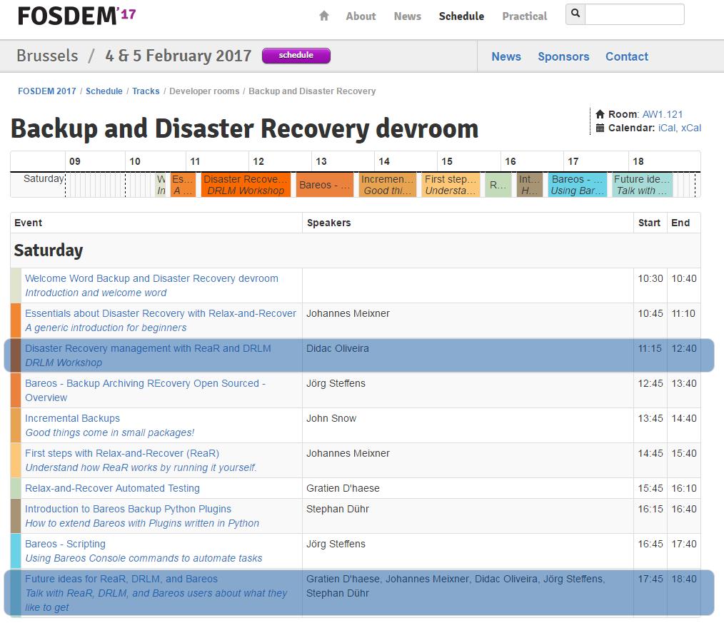 DRLM-Workshop-FOSDEM-17_-Backup-and-Disaster-Recovery-Devroom